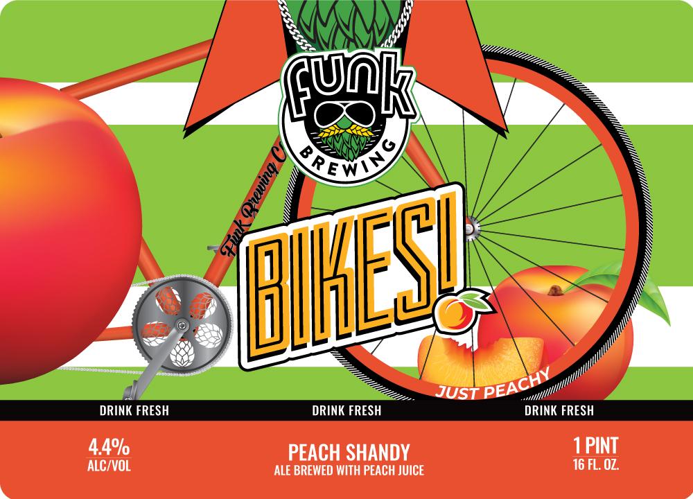 Bikes! Peach
