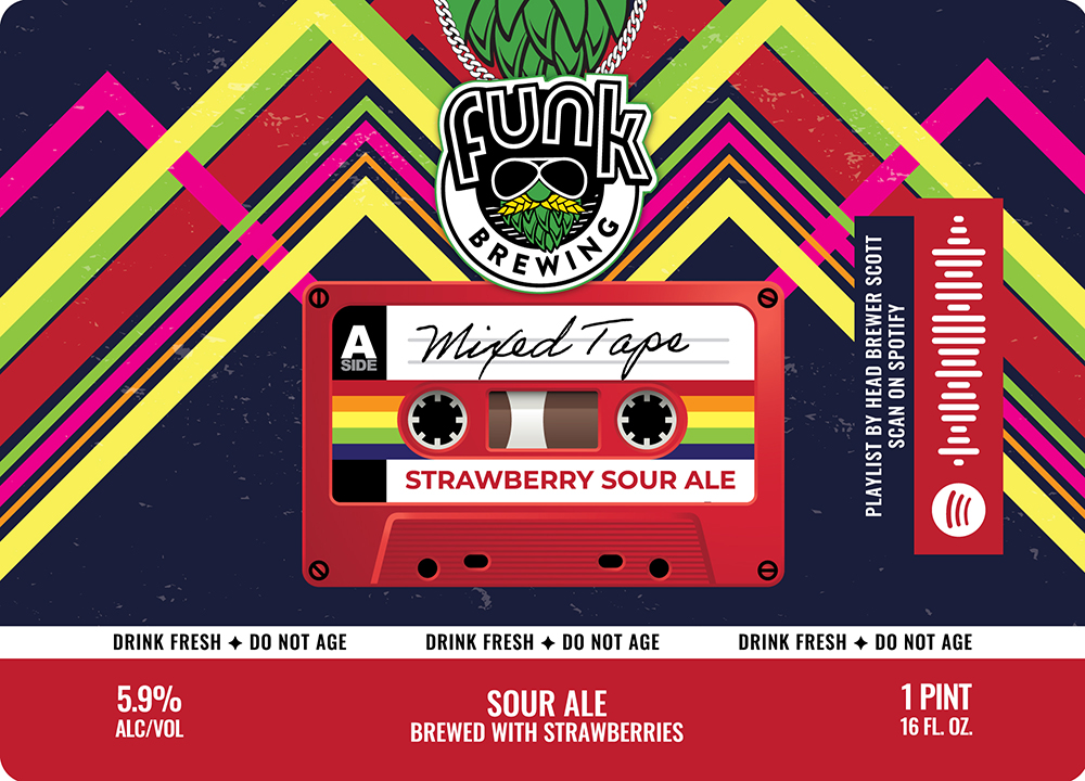 Mixed Tape – Strawberry Sour